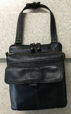 Fossil ZB 8944 Leather Shoulder Messenger Organizer Bag