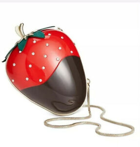 Kate Spade Dipped Strawberry Clutch
