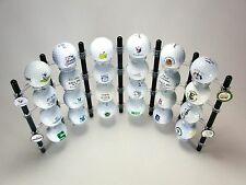 Unique Golf Ball Display Made in USA Rack Case Cabinet