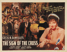 The Sign of the Cross Fredric March movie poster print