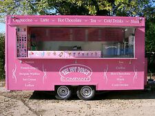14ft Donut Ice cream / Mobile Catering Trailer for Sale / TYPE APPROVED