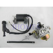 Ignition Coil + Carburetor + Fuel line For HONDA GX160 5.5HP GX200 6HP Engine