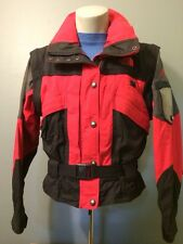 North Face Extreme Gear Ski Retro 90s Womens Vest Coat Jacket 10 Snow Winter TNF