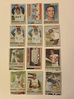 🔥 1970 TOPPS Baseball Card Set 🔥 MISCUT ERROR CARD LOT 🔥 HIGH # BANKS PERRY