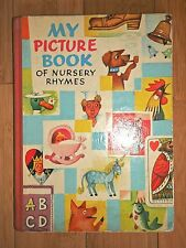 MY PICTURE BOOK OF NURSERY RHYMES - 1963  ILLUSTRATED BY Vojtech Kubasta - RARE