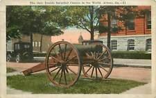 Georgia, GA, Athens, Double Barrelled Cannon 1926 Postcard