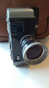 Yashica 8mm Vintage Movie Camera, vintage bag, accessories, manuals. READ DESC
