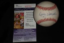 DOOLEY WOMACK SIGNED AUTOGRAPHED AUTHENTIC MLB BASEBALL YANKEES JSA CERTIFIED