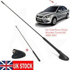 AM/FM Roof 21.5 inch Antenna Aerial+Base For Ford Focus Fiesta Mondeo Transit KA
