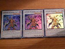 Legendary Six Samurai - Shi En Super X  3 Mint RYMP-ENSE1 Ra Yellow Mega Pack