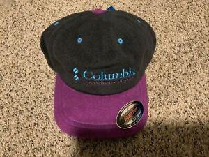 Columbia Sportswear Company FlexFit Hat Black/Purple Men's Size: S/M NWT