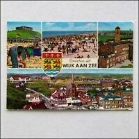 Groeten uit Wijk Aan Zee 4 Views 1978 Postcard (P399)