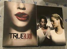 True Blood - The Complete First Season (DVD, 2009, 5-Disc Set) + Slip Case!
