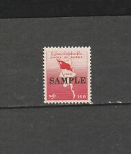 "Burma STAMP 1963 ISSUED SAMPLE OVERPRINT ""SPECIMEN"" ON MAP SINGLE, MNH, RARE"