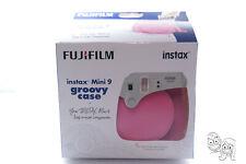 Fujifilm Instax Mini 9 / 8 Groovy Camera Case - PINK - FREE Shipping