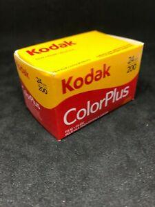Kodak Color Plus  200 24 exp 35mm film expired fuji agfa Ferrania