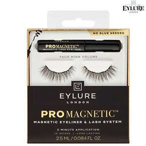 Eylure PRO-MAGNETIC False Reusable Eyelashes Lash Extra Volume + Curl + EYELINER