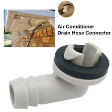 Air Conditioner AC Drain Hose Connector Elbow Fitting with Rubber Ring Candy