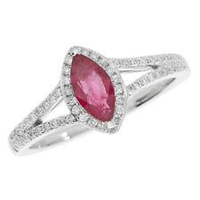 Gioielli di lusso marquise diamante rubino