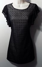 MISS SELFRIDGE black lace dress UK 8 US  6 EU 36
