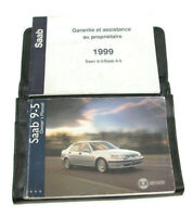 1999 Saab 9 - 5 Factory Original Owners Manual Portfolio #30