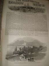 Fortifications of Paris Palmerston and Thiers at Mont-Valerien France 1846 print