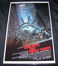 Escape from New York 11X17 Movie Poster Kurt Russell Adrienne Barbeau