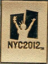 2012 London Polished Brass NYC Olympic Candidate City Bid Pin