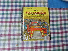 LITTLE GOLDEN BOOK - THE FIRE FIGHTERS COUNTING BOOK