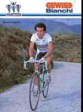 MORENO ARGENTIN Cyclisme Team GEWISS BIANCHI 87 Cycling ciclismo WORLD CHAMPION