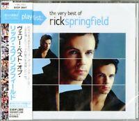 RICK SPRINGFIELD-PLAYLIST: THE VERY BEST OF RICK SPRINGFIELD-JAPAN CD C25