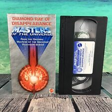 Masters Of The Universe Diamond Ray Of Disappearance VHS Cassette Tape Free S/H