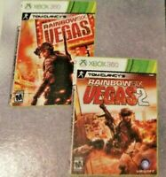 Rainbow Six Vegas 1 AND 2 Online Codes Xbox 360 On Xbox One Xbox Live Store