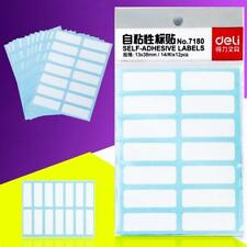 12 x/Sheet Blank White Self Adhesive Sticky Address Printer Labels Office Sell