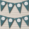 Blue Camouflage Army Soldier Personalised Birthday Bunting Party Banner