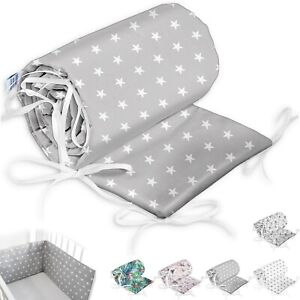 Bettumrandung Kopfschutz Nestchen Handmade 100% Zertifizierte Baumwolle ekmTRADE
