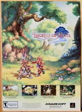 Legend of Mana Poster Ad Print Playstation PS1 Retro