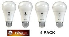 4 PACK GE 60W Equivalent Soft White 11 Watt High Definition A19 Dimmable LED