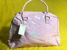 Hello Kitty Hand Bag Pink Bag Handbag Bags Glitter Glossy Faux Leather Women