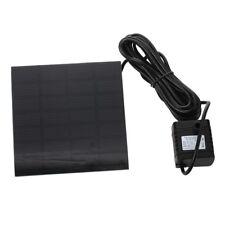 Pompa Ad Acqua Solare Power Panel Kit Fontana Giardino Irrigazione W4I4