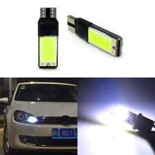 2Pcs T10 W5W 501 ERROR FREE CANBUS XENON WHITE CAR SIDE LIGHT BULB SMD LED COB