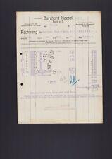 HALLE/SAALE, Rechnung 1924, Burchard Hoebel