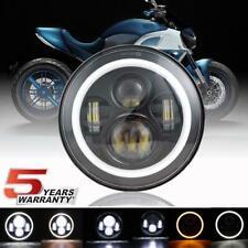 "DOT 7"" CREE LED Headlight Halo For Harley Trike Tri Glide Ultra Classic FLHTCUTG"