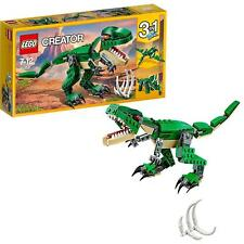 LEGO Creator Mighty Dinosaurs Kit Toy Set 3-In1 T-Rex Triceratops New 30158