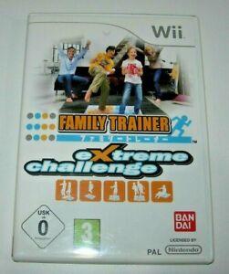 Family Trainer Extreme Challenge Nintendo Wii (PAL España muy buen estado)