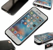 Silicone Cover Ultra-Slim Phone Case  Apple iPhone 6 Black Gel    IXPORT™