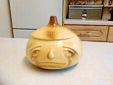 More details for vintage sylvac onions face pot no. 516 (3727)