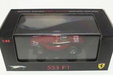 Mattel #N5586 - Ferrari 553 F1 - Hot Wheels - Red - A+/A