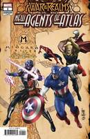 NEW AGENTS OF ATLAS #1 War of Realms Connecting Variant Marvel Key 1st App NM