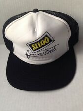 1980s SILOO PETROLEUM ADDITIVE FOAM TRUCKER BASEBALL CAP HAT, USA, NOS VINTAGE